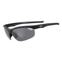 Okulary TIFOSI VELOCE matte black 3szkła Smoke 15,4 transmisja światła, AC Red, Clear