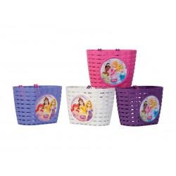 Koszyk na kierownice WIDEK PRINCESS DREAM plastikowy mix kolorów pudełko 4szt.