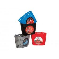 Koszyk na kierownice WIDEK CARS2 plastikowy mix kolorów pudełko 4szt.