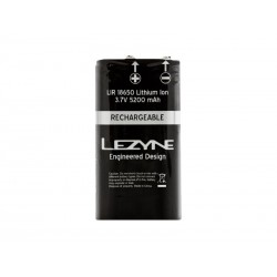 Bateria LEZYNE LIR 2 CELL MEGA DRIVE, 5200 mAh, 3.7 V