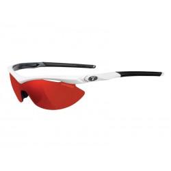 Okulary TIFOSI SLIP CLARION white gunmetal 3szkła Clarion Red LUSTRO 14,5 transmisja światła, AC
