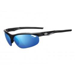 Okulary TIFOSI VELOCE CLARION gloss black 3szkła Clarion Blue LUSTRO 14,7 transmisja światła, AC