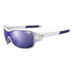 Okulary TIFOSI RUMOR CLARION silver purple 3szkła Clarion Purple LUSTRO 17,1 transmisja światła,