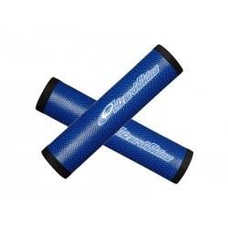 Chwyty kierownicy LIZARDSKINS DSP 32.3 gr.32.3mm 130mm niebieskie