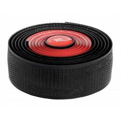 Owijki na kierownicę LIZARDSKINS DSP 2.5 DUAL COLOR BAR TAPE gr.2,5mm czerwono-czarne