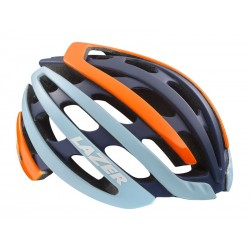 Kask szosa LAZER Z1 M flash orange blue 55-59 cm