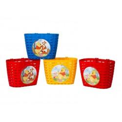 Koszyk na kierownice WIDEK KUBUŚ PUCHATEK plastikowy mix kolorów pudełko 4szt.