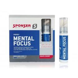 Zestaw SPONSER MENTAL FOCUS pudełko ampułki 5szt. x 25ml + 10 tabletek