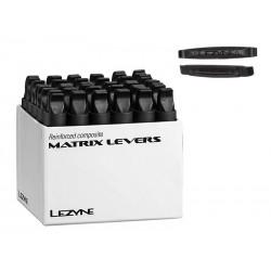 Łyżki do opon LEZYNE MATRIX LEVEL BOX pudełko 30 x 2szt. czarne