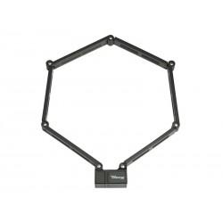 Zapięcie rowerowe MASTERLOCK FOLDING LOCK U-LOCK 822mm 92cm czarne