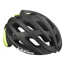 Kask szosa LAZER BLADE S matt black flash yellow roz.52-57 cm