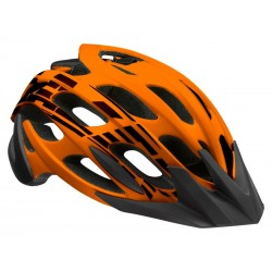 Kask mtb LAZER MAGMA M flash orange black roz.55-59 cm