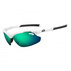 Okulary TIFOSI TYRANT 2.0 CLARION matte white 3szkła Clarion Green LUSTRO 10,3 transmisja