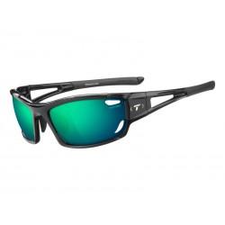 Okulary TIFOSI DOLOMITE 2.0 CLARION gloss black 1szkło Clarion Green 10,3 transmisja światła, AC