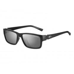 Okulary TIFOSI HAGEN gloss black 1szkło Smoke 15,4 transmisja światła