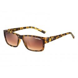 Okulary TIFOSI HAGEN leopard 1szkło Brown Gradient 14,2 transmisja światła