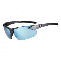 Okulary TIFOSI JET FC matte gunmetal 1szkło Smoke Bright Blue 11,2 transmisja światła