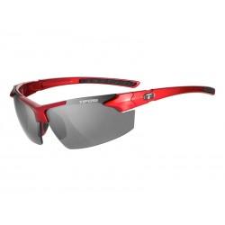 Okulary TIFOSI JET FC metallic red 1szkło Smoke 15,4 transmisja światła