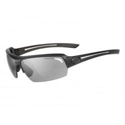 Okulary TIFOSI JUST matte black 1szkło Smoke 15,4 transmisja światła