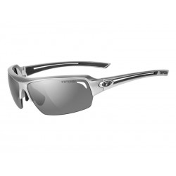 Okulary TIFOSI JUST gloss gunmetal 1szkło Smoke 15,4 transmisja światła
