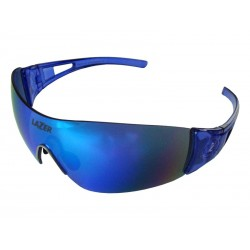 Okulary LAZER MAGNETO Crystal Blue Smoke-Blue REVO, Yellow-Blue Mirror, Clear
