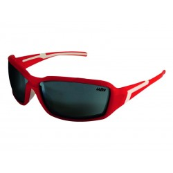 Okulary LAZER XENON Matte Red Smoke-Silver Mirror