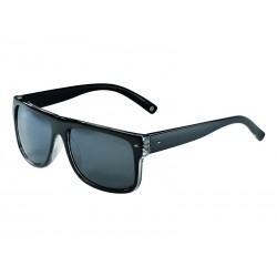 Okulary LAZER WAYMAKER 1 Glossy Crystal Black Smoke-FM