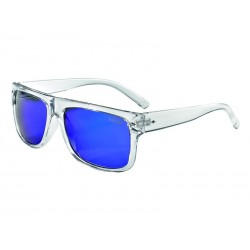Okulary LAZER WAYMAKER 1 Crystal Clear Smoke-Blue REVO
