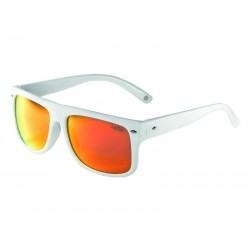 Okulary LAZER WAYMAKER 1 Glossy White Smoke-Black Red REVO