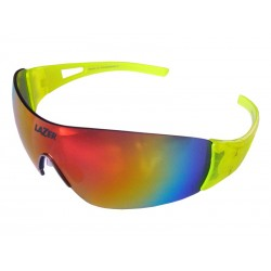 Okulary LAZER MAGNETO Flash Yellow Smoke-Black Red REVO, Yellow, Clear