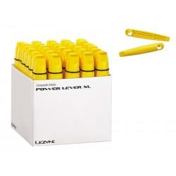 Łyżki do opon LEZYNE POWER LEVER XL BOX żółte 30 x 2szt. pudełko