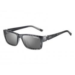Okulary TIFOSI HAGEN silver streak 1szkło Smoke 15,4 transmisja światła