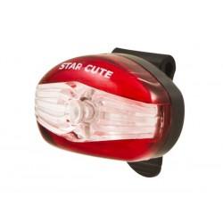 Lampka tylna SPANNINGA STAR CUTE XB + baterie