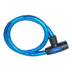 Zapięcie rowerowe MASTERLOCK QUANTUM 8228 18mm 100cm KLUCZYK niebieskie