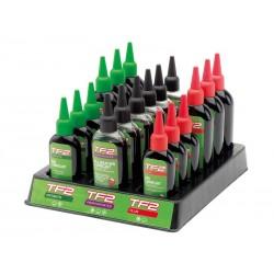 Olej do łańcucha zestaw WELDTITE TF2 MIX COMBINATION LUBES DISPLAY 18 butelek
