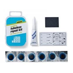 Łatki do opon zestaw WELDTITE TUBELESS CYCLE INSIDE 6x łatki pudełko 12szt.
