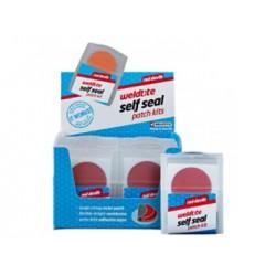 Łatki do dętek zestaw WELDTITE RED DEVILS SELF SEAL PATCH KIT 6x łatki samoprzylepne pudełko