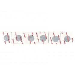 Łatki do dętek zestaw WELDTITE NARROW PROFILE ROAD 6x łatki samoprzylepne pudełko 50szt.