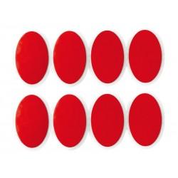 Łatki do dętek zestaw WELDTITE RED DEVIL SELF SEAL 8x łatki samoprzylepne