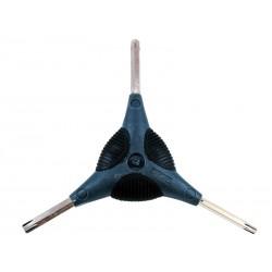 Klucz gwiazdkowy WELDTITE CYCLO 'Y' Torx Wrench T25, T30, T40