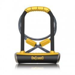 Zapięcie rowerowe ONGUARD PitBull DT 8005 U-LOCK - 14mm 115mm 230mm - 5 x Klucze z kodem + linka