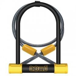 Zapięcie rowerowe ONGUARD Bulldog DT 8012 U-LOCK - 13mm 115mm 230mm - 5 x Klucze z kodem + linka