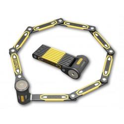 Zapięcie rowerowe ONGUARD Heavy Duty Link Plate Lock K9 SKŁADANE 8114 - 112,5cm - 5 x Klucze z