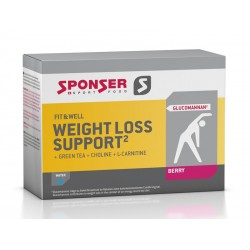 Napój SPONSER WEIGHT LOSS SUPPORT jagoda pudełko 15 saszetek x 9g