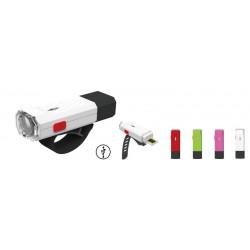 Lampka przednia TORCH HIGH BEAMER USB MINI biała