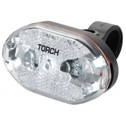 Lampka przednia TORCH WHITE BRIGHT 5X czarna