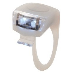 Lampka przednia TORCH WHITE BRIGHT FLEX 2 biała