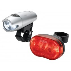 Zestaw lampki TORCH CYCLE LIGHT SET HIGH BEAMER WHITE 5 + TAIL BRIGHT 5