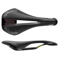 Siodło SELLE ITALIA NOVUS KIT CARBONIO FLOW S id match - S2 carbonkeramic 7x9, fibra-tek, 190g