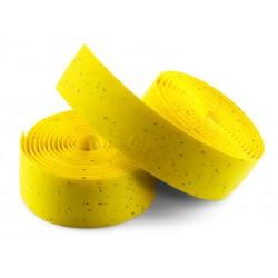 Owijka na kierownicę SELLE ITALIA CORSA gr.2,5mm żelowa żółta